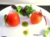 Tomates pera rellenos de cuscús