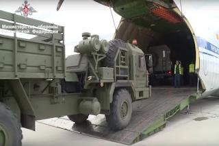 Sistem Pertahanan Udara S-400 Turki