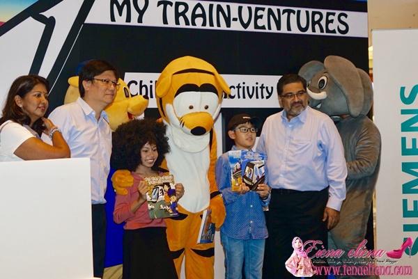 Akitiviti menarik untuk kanakMajlis Pelancaran Buku Aktiviti My Train-Ventures Sempena Pembukaan Fasa 2 MRT Sungai Buloh – Kajang