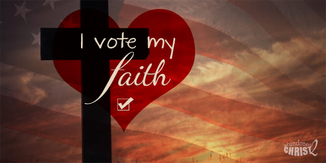 Voting My Faith, Not My Fears or Affinities
