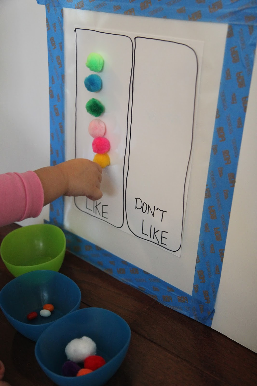 Toddler Approved Jelly Bean Tasting A Color Matching Activity