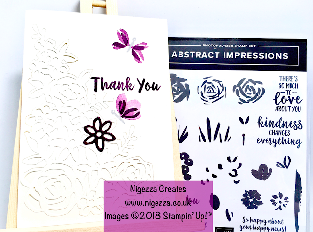 Stampin' Up!® Abstract Impressions Card