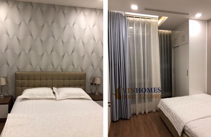 Chủ nhà bán gấp căn hộ Vinhomes tòa Park 5 có nội thất nhà đẹp | view phòng ngủ