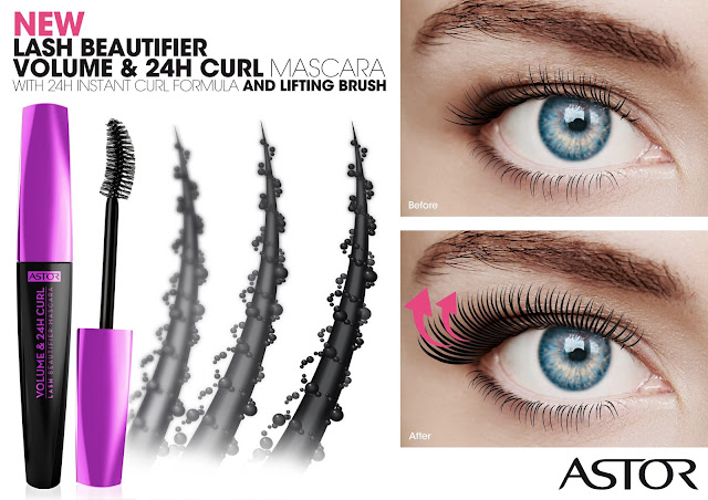 astor lash beautifier volume curl