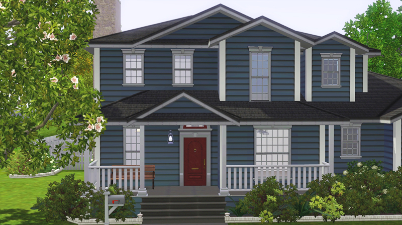 Freebird Sims 3 Lot*family House 03