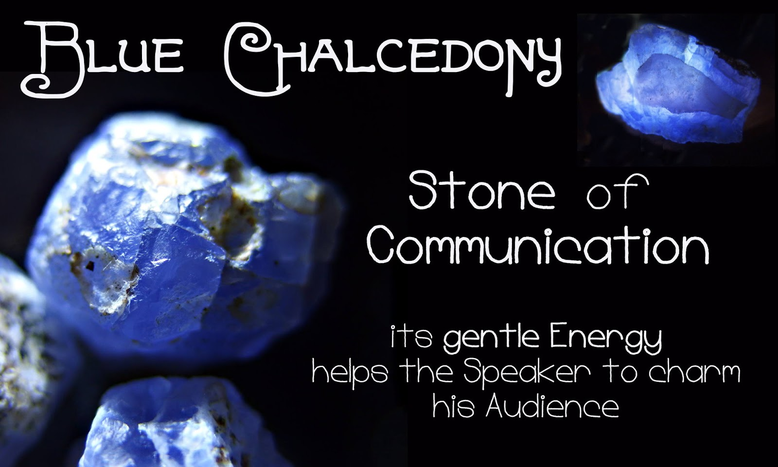 Blue Chalcedony Stone Of Communication Healing Jasper