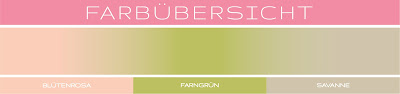 Stampin' Up! rosa Mädchen Kulmbach: Glückwunschkarte mit Glücksschweinchen und Tree Rings