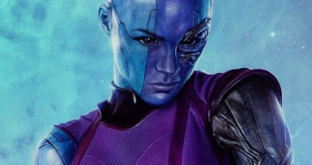 Karen Gillian es Nebula en Avengers: Infinity War