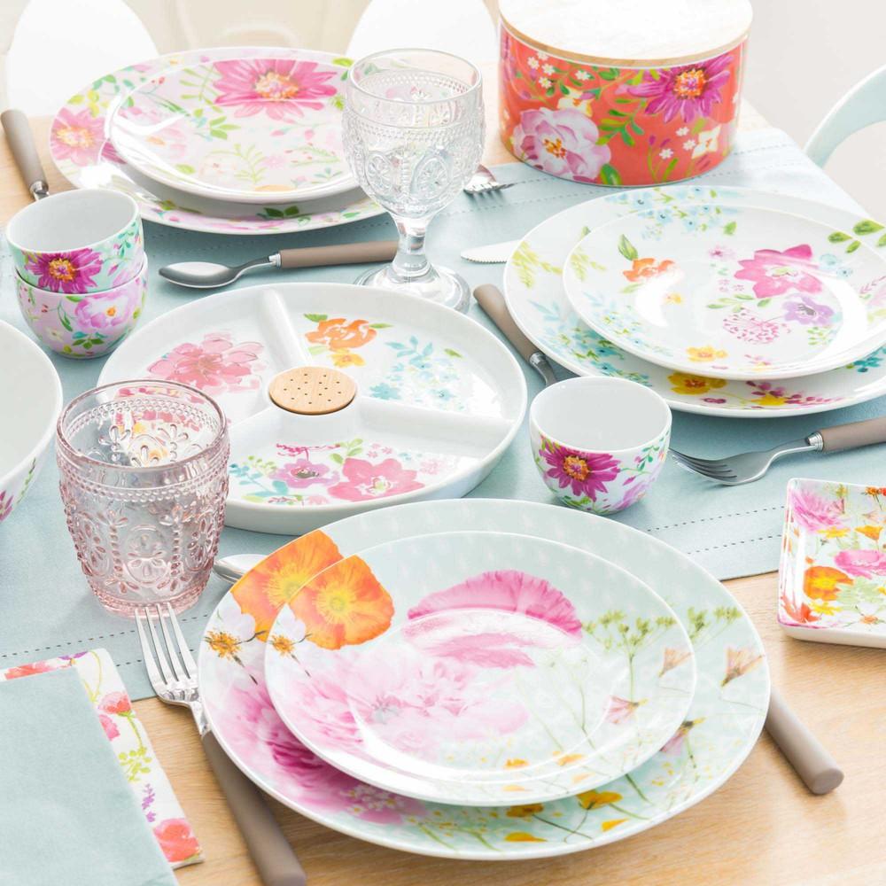 maisons du monde cucina tavola a fiori