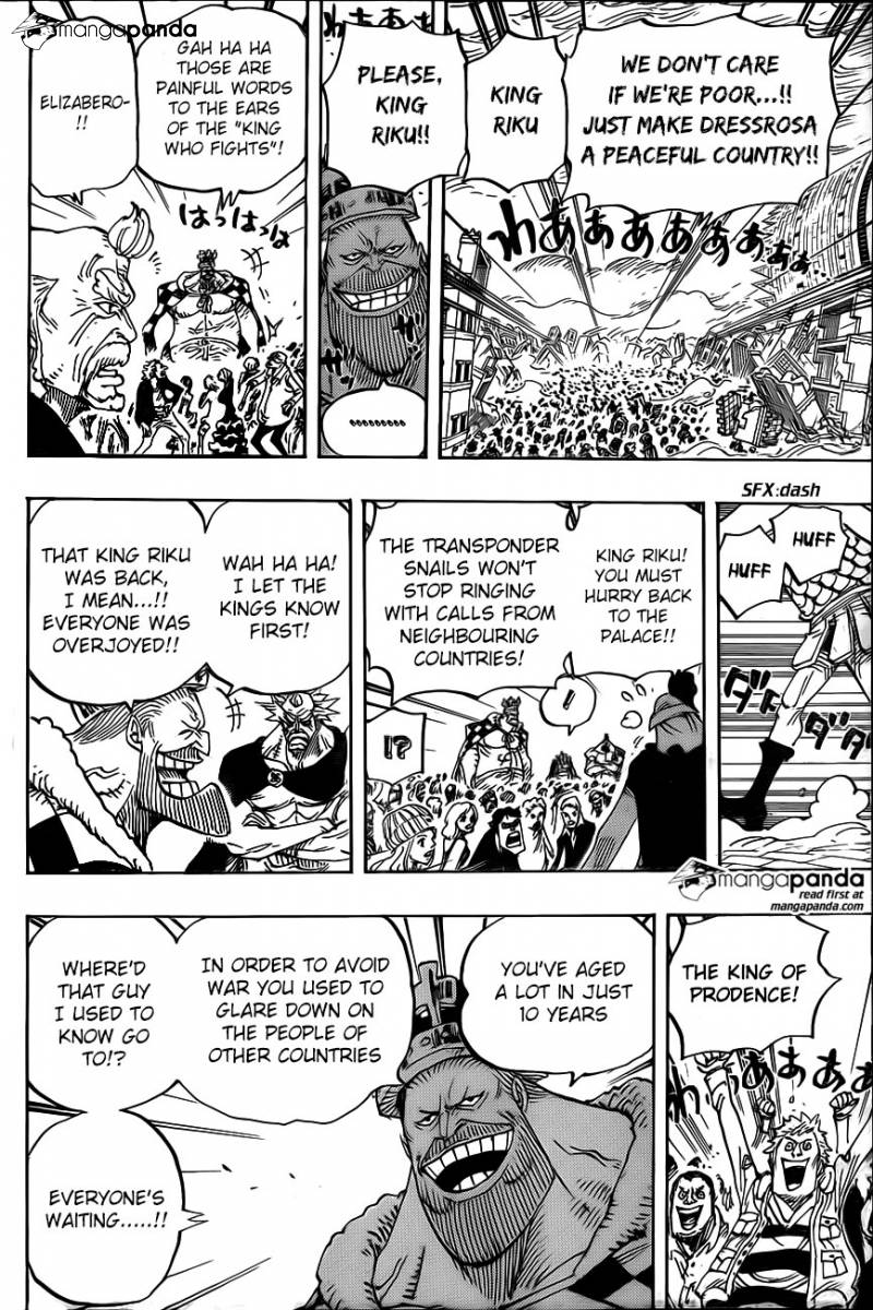 One Piece Ch 792: Kneeling down