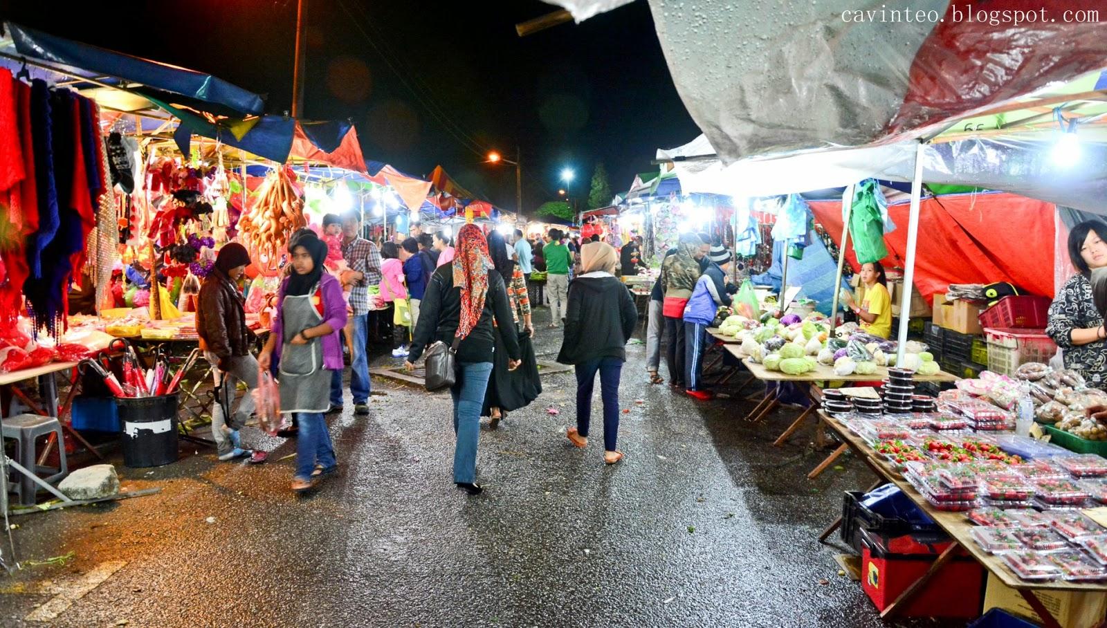 Entree Kibbles Cameron Highlands Pasar Malam Night Market Brinchang Town Malaysia