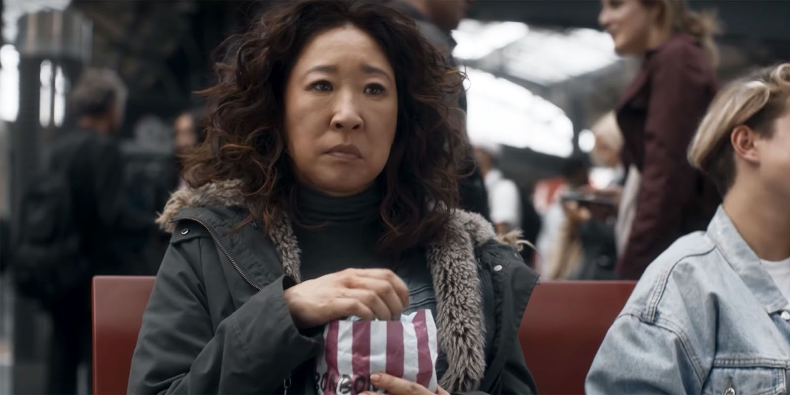 Eve en la segunda temporada de 'Killing Eve'