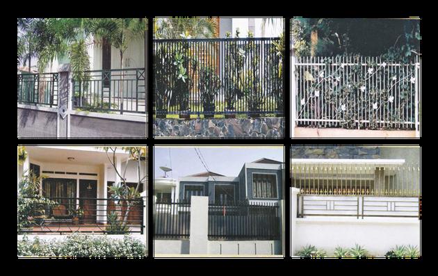 Desain Pagar Rumah Minimalis Terbaru 2014  Rumah