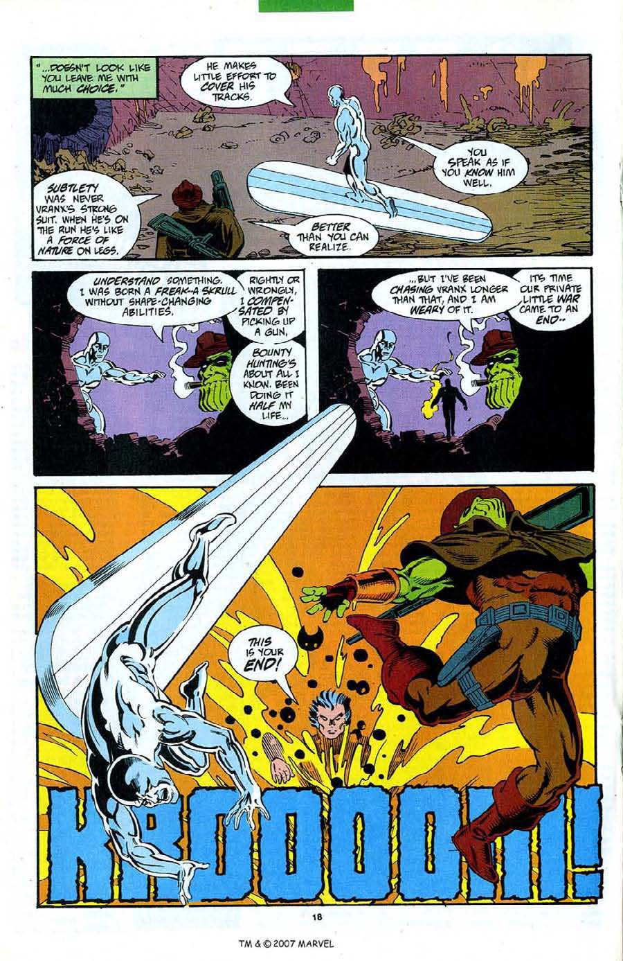 Read online Silver Surfer (1987) comic -  Issue #89 - 20