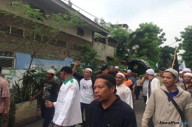 Pimpin Salat Jenazah Idris, Imam FPI DKI: Almarhum Meninggal Syahid