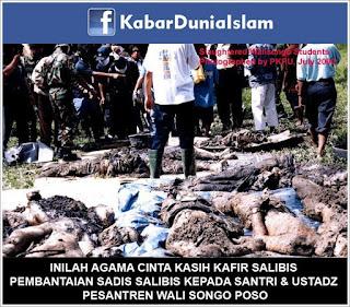 Pembantaian Sadis Salibis Kepada Santri+Ustad Pesantren Wali Songo Poso! Awal Mula Santoso Mengangkat Senjata