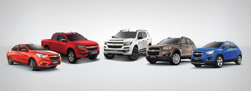 Chevrolet Philippines Vehicle Line-up