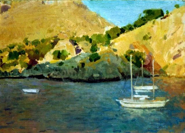 Alejandro Cabeza, Mallorca en Pintura, Mallorca pintada, Torrent de Pareis , Paisajes de Mallorca, Mallorca en Pintura