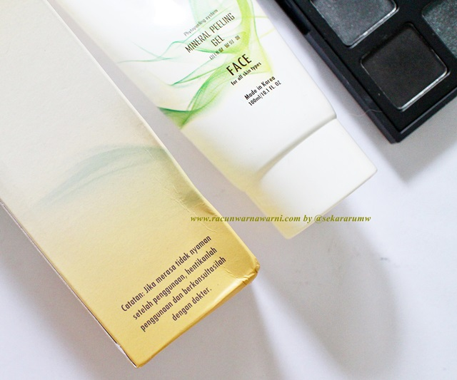 Review Kozuii Mineral Peeling Gel for Face