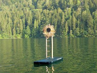 Rosa Roedelius installation / photo S. Mazars