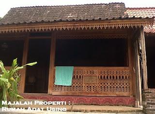 Desain Bentuk Rumah Adat Using dan Penjelasannya, rumah adat Banyuwangi