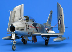 Build Review Pt IV: 1/48th scale North American FJ-2 Fury from Kitty Hawk