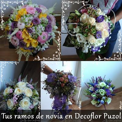 Ramos de novia en Puzol