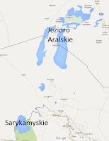 Jezioro Aralskie iSarykamyskie