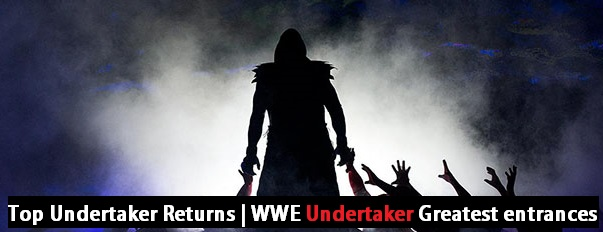Top Undertaker Returns | WWE Undertaker Greatest entrances - WWE Top 10