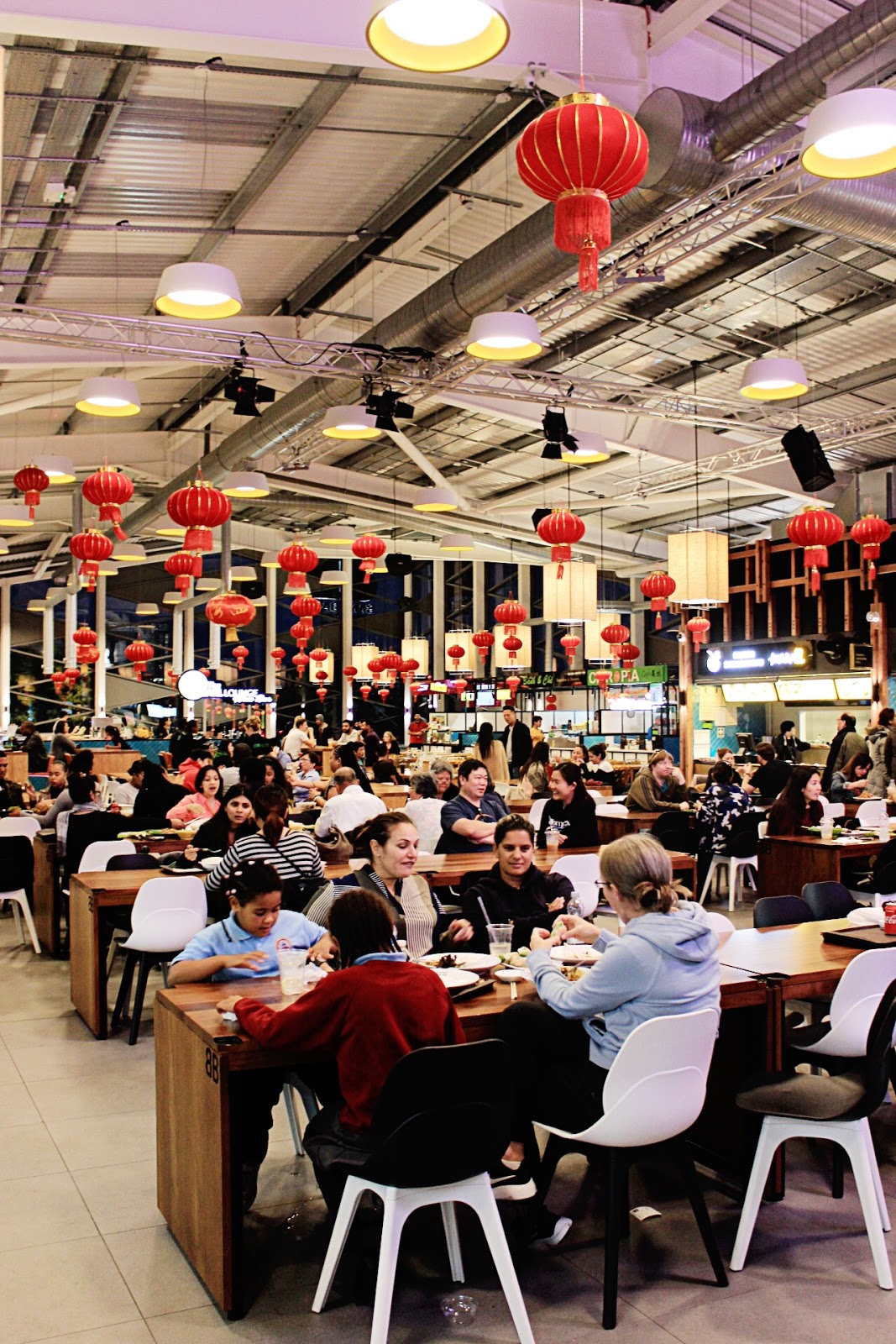 Bang Bang Oriental Asian Food Hall London