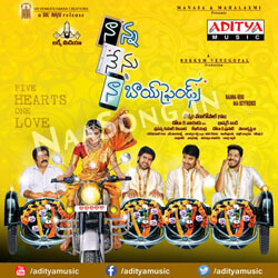 Nanna Nenu Naa Boy Friends (2016) Telugu Movie Audio CD Front Covers, Posters, Pictures, Pics, Images, Photos, Wallpapers