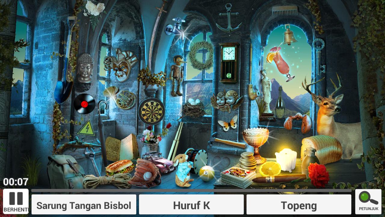 Game Android Mencari Benda Tersembunyi Enchanted Castle Arahan Ilmu