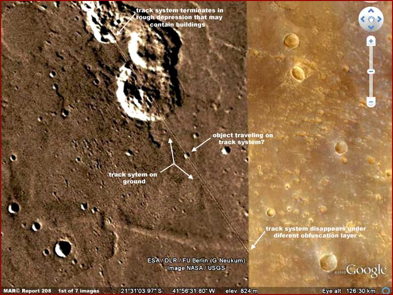 THE LATEST MARS ANOMALIES FROM OUR MARTIAN CORRESPONDENT