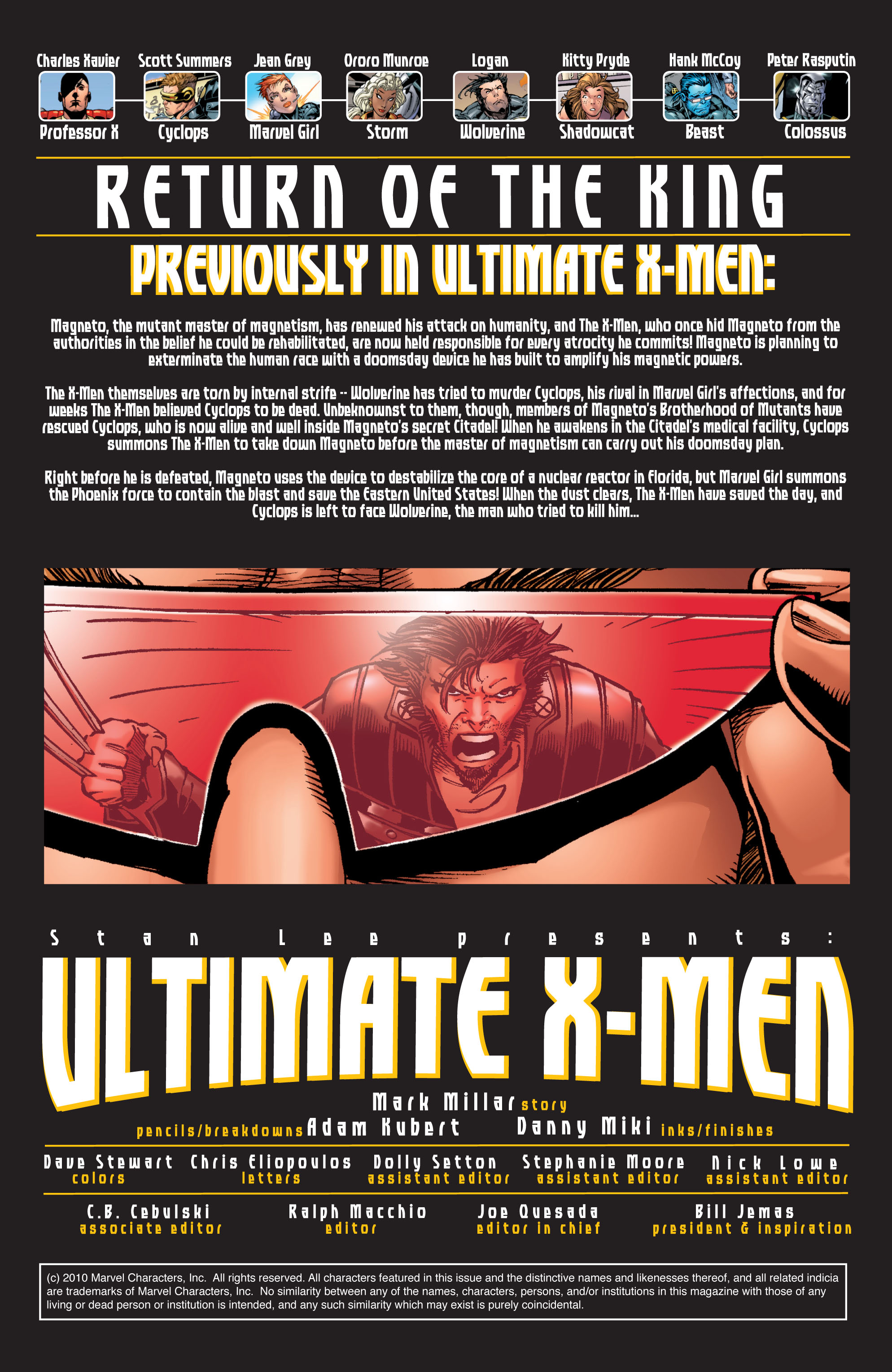 Read online Ultimate X-Men comic -  Issue #32 - 2