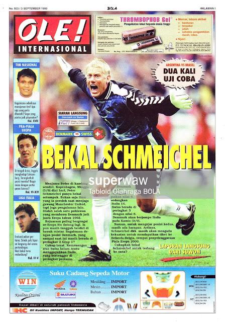 PETER SCHMEICHEL DANEMARK VS SWITZERLAND
