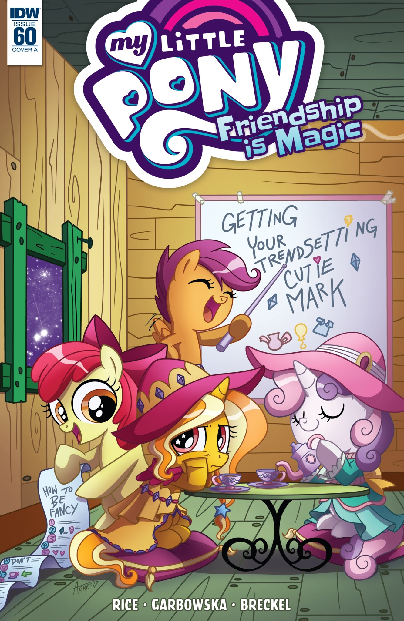 My Little Pony: Friendship is Magic 60 Page 1