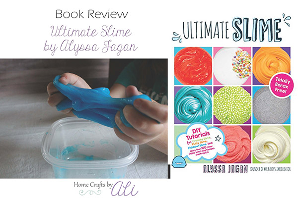 book review ultimate slime by alyssa jagan book cover and blue slime