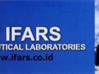 Info Lowongan Kerja di Solo 2018 PT Ifars Parmacheutical Laboratories Karanganyar, Jawa Tengah