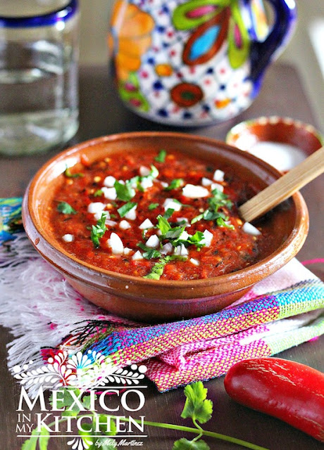 roasted Red Jalapeño Salsa recipe