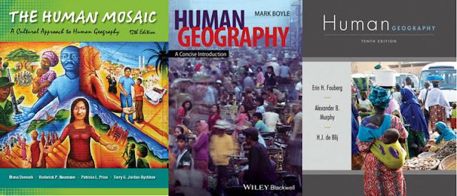 geografia, humana