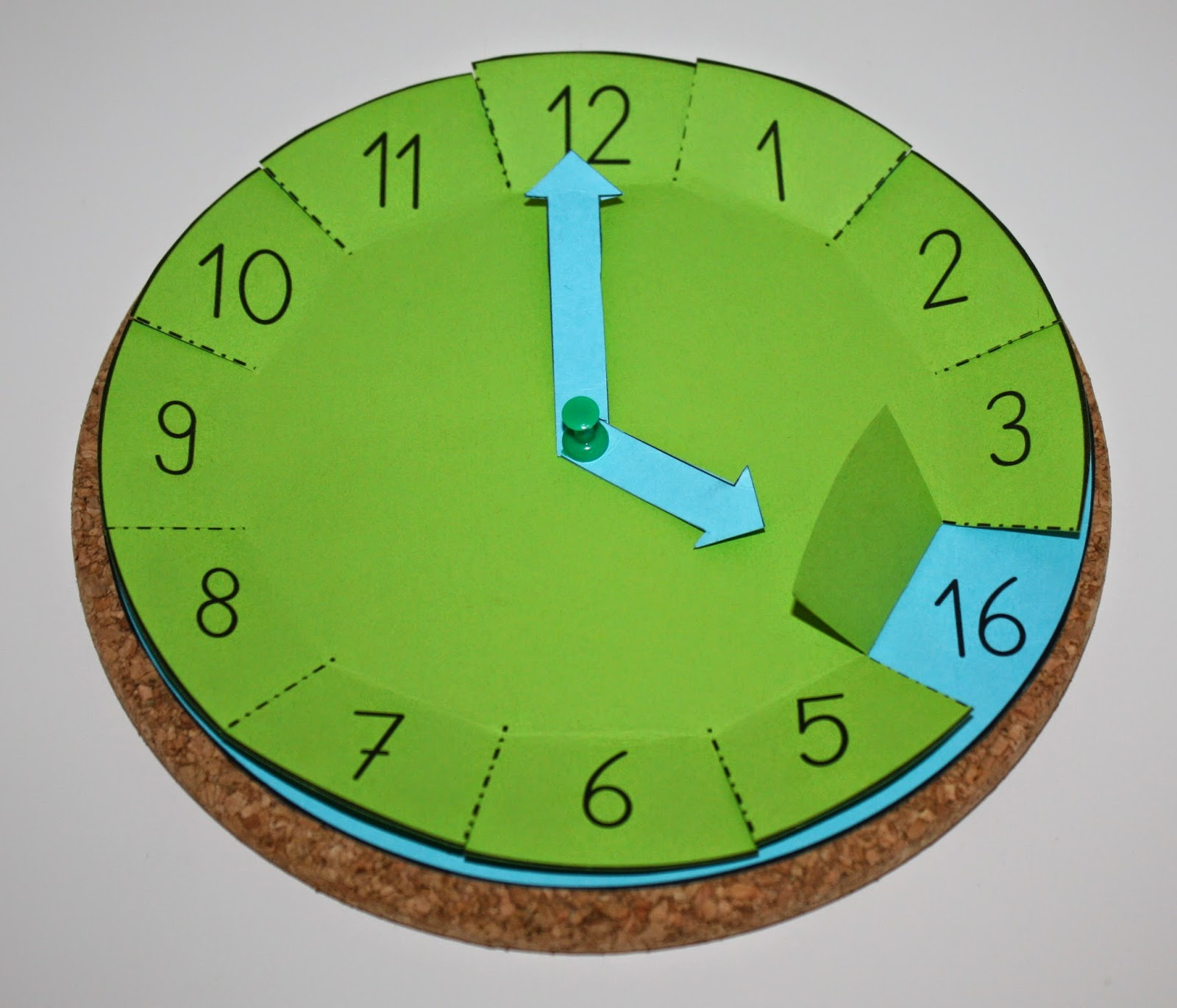 Englisch Arbeitsblatt Uhr Uhr Bastelvorlage Klassenkunst
