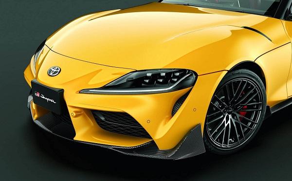 Toyota GR Supra kit aerodinámico TRD