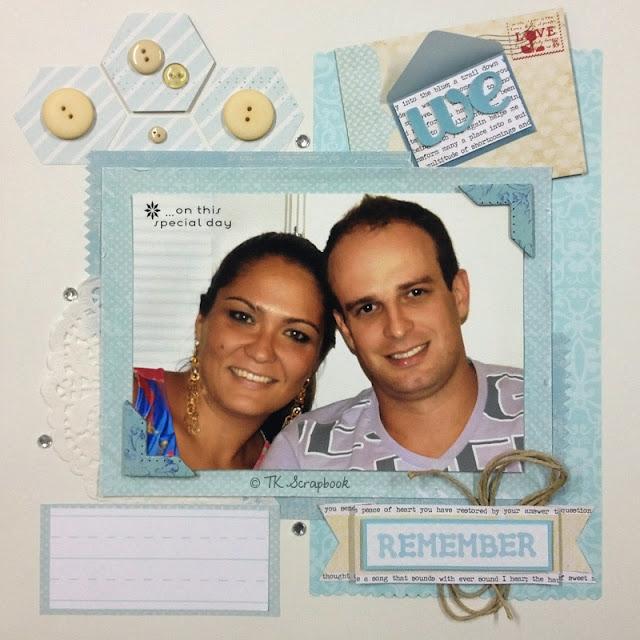 pagina lo scrapbook we remember