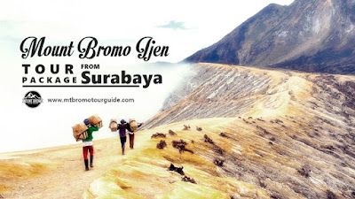 Mount Bromo Sunrise, Ijen Volcano Tour Package