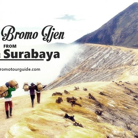 Mount Bromo Ijen Tour Package from Surabaya 3D2N