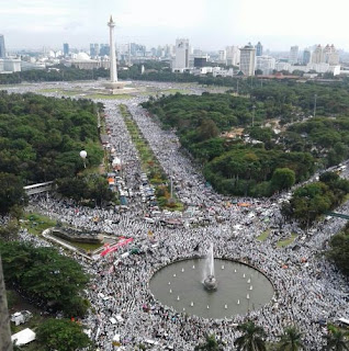 Umat Islam Indonesia Tunjukkan Eksistensi karena Merasa Terganggu dan Terancam