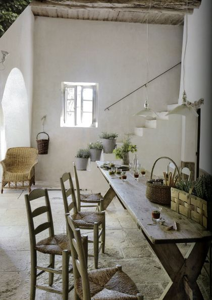 Country decor style is a favorite on Hello Lovely, especially when it is as refined and architecturally interesting as these examples of beautiful European farmhouse style.