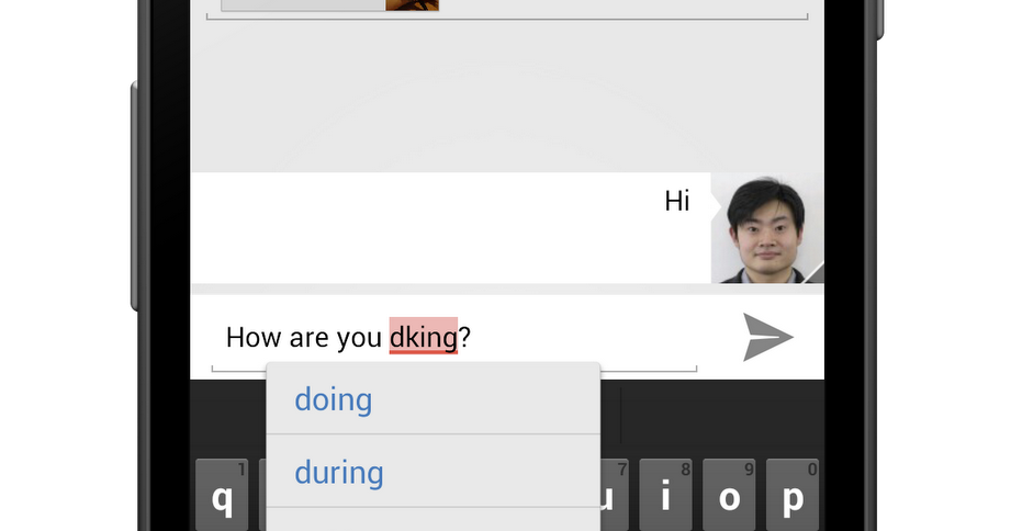 Android Developers Blog: Creating Your Own Spelling Checker Service