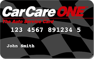 Car Care One Cards get 6 month, 0% financing at Almost Everything Auto Body.