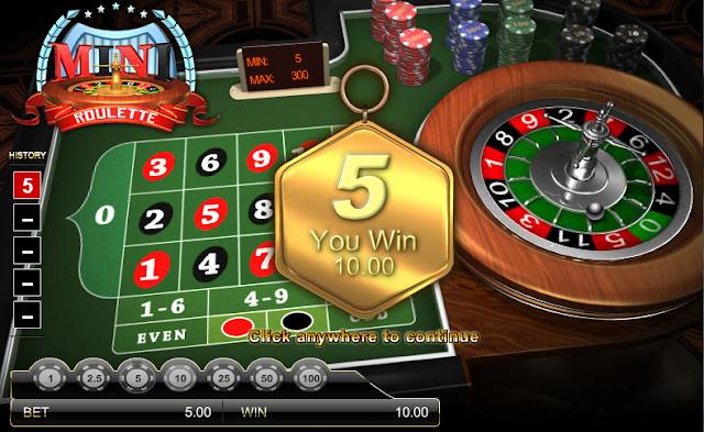 MaxBet Malaysia IBCBet Mini Roulette Live Casino Games